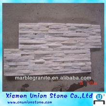 Nature Quartz Stone Wall Cladding White Slate Culture Stone