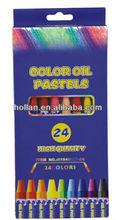 24 Color Oil Pastels