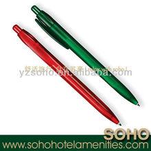 5 star hotel plastic erasable ball pen