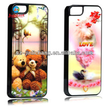 cute animal printing skin phone case for iphone5