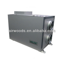 Residential fresh ventilation for home air heat exchanger