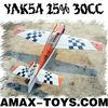 gp-gp008 gas powered rc plane GASOLINE Airplane Model - YAK54 25% 30CC
