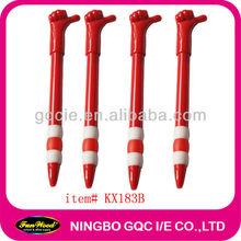 shaped ball pen