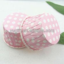 Pink dots bulk cupcake liners wholesale