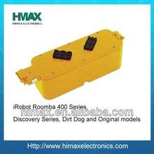 14.4V 3300mAh NI-MH Robot 400 / 500 Series battery for vacuum cleaner