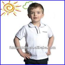 2014 100% cotton casual shirt design short sleeve high quality polo shirt