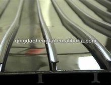 T-rib PVC sheets black