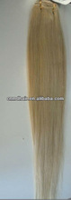 white gray color 1001 remy hair weft