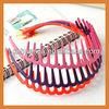 Hot selling decorative goody color headband plastic headband