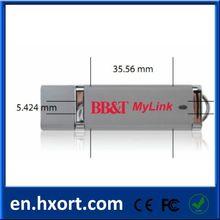 OEM plastic USB flash drive/customer logo flash drive 8GB USB