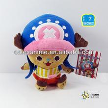 Wholesale High Quality Anime Lovely Cartoon One Piece Tony Plush Doll Toys 7' Size