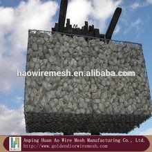 strong galvanized iron wire weave mesh Gabion box(2.0-4.0mm)