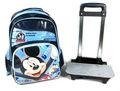 mickey mouse niños trolley bolsas de la escuela de los animales del zoológico deimágenes