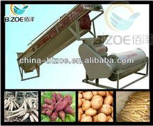 Free training cassava starch processing equipment in Laos