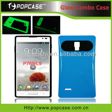 For LG P769 Optimus L9 Glow Combo Cell Phone Case