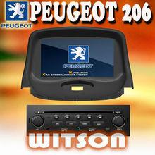 WITSON gps navigation disc PEUGEOT 206