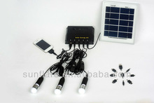 portable solar power system with charger function