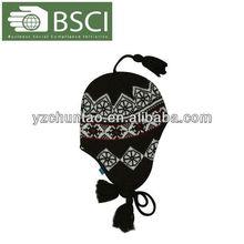 adult crochet earflap hat