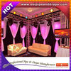ESI Telescope Pipe And Drape Fabric Curtains Support For Stage Backdrop Stands And Wedding Decoration With Lower Price