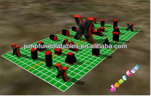 23pcs Inflatable laser tag arena commercial bunkers for paintball field