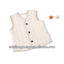 New design clothing for infant,organic cotton baby vest