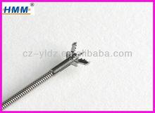 CE ISO 2.3mm Disposable Flexible Colonoscopy Alligator Tissue Sampling Biopsy Forceps