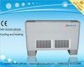 Súper delgada de agua fría de la bobina del ventilador de aire acondicionado