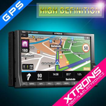 """7"""" Reproductor de DVD con pantalla tactil digital y Panel LED para coche-2013 Nuevo modelo!"""