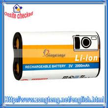 Li-ion CR-V3 Battery for Kodak 3V 2000mAh