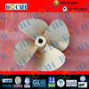 High speed fixed pitch 4 blade marine propeller