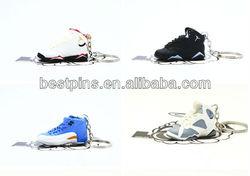 mini running shoe keychain