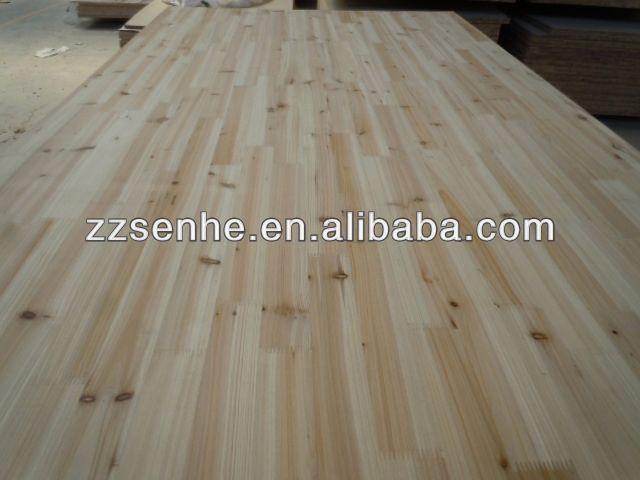 Cedar Panel Poplar Finger Joint Wood Board For Sale