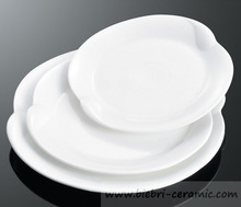 Sale 11 Inch Custom Designed New Modern Fashion Antique White Porcelain Plates