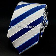 100% silk woven jaquard striped neckties