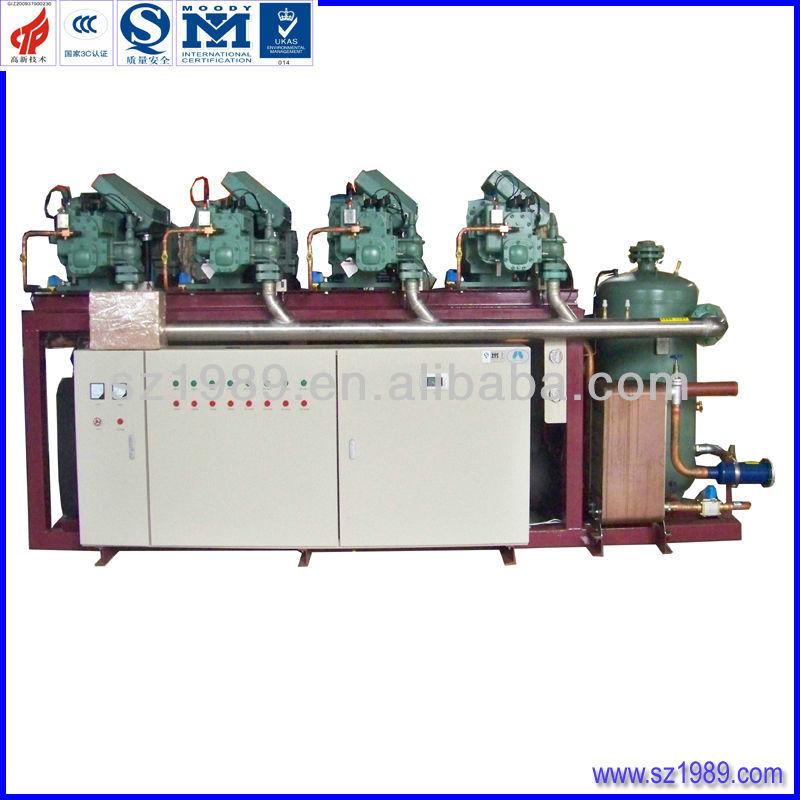 BITZER Parallel compressor condensing unit for refrigeration