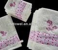 100% algodão dom e promocionais conjuntos de toalha