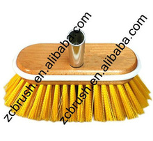 PP hair wood plate car wash brush