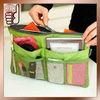 2015 New Arrival Purse Organizer Bag Inserted Mesh Pockets (OB0073)