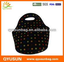 Custom Made Neoprene Lunch Cooler Bag Tote For Promotion