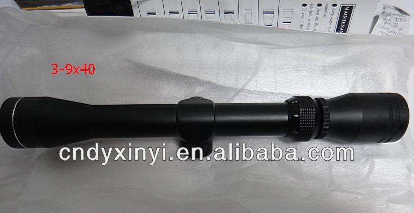 3-9x40 rifle scope