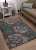 hand tufted wool flower rugs