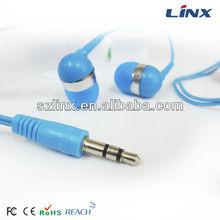 Blue earphone/headphones in bulk