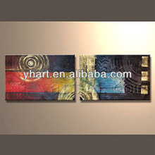 Hot sell abstract picture of oil painting for decor