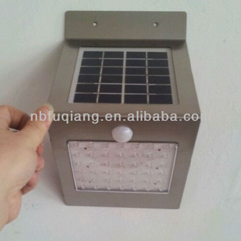 FQ-526-4 new developed stainless steel big power solar sensor light