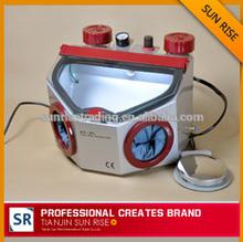 Hot selling!!!Fine Blasting Unit (Twin pen&Twin tank)/dental lab sandblaster
