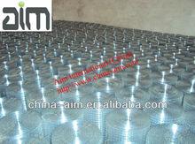 galvanized 1x1 welded wire mesh