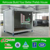 New design Australia done10ft container house shop/Portable container shop