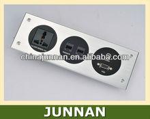 RJ45/Data, RJ11/Tel, RCA, USB, VGA, XLR, HDMI etc. Wall Plate