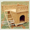 SDD01 Wooden outdoor cat house