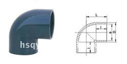 PVC Sewage Pipe Fittings 45 Degree Elbow